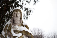 άγαλμα Χριστού Ιησούς Στοκ φωτογραφία με δικαίωμα ελεύθερης χρήσης