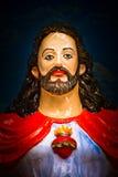 Άγαλμα Χριστού, Anjuna, Goa, Ινδία Στοκ εικόνα με δικαίωμα ελεύθερης χρήσης