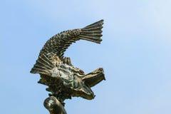 Άγαλμα ψαριών Στοκ εικόνες με δικαίωμα ελεύθερης χρήσης