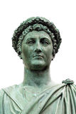Άγαλμα Armand Emmanuel Sophie Septimanie de Vignerot du Plessis, δούκας Richelieu σε μια ρωμαϊκά τήβεννο και ένα στεφάνι δαφνών Στοκ Φωτογραφία