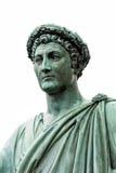 Άγαλμα Armand Emmanuel Sophie Septimanie de Vignerot du Plessis, δούκας Richelieu σε μια ρωμαϊκά τήβεννο και ένα στεφάνι δαφνών Στοκ Εικόνες