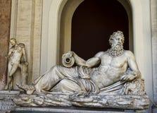 Άγαλμα Arno μέσα στο Βατικανό στοκ εικόνα με δικαίωμα ελεύθερης χρήσης