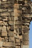 Άγαλμα Aspara - χαράζοντας ναός πετρών του angkor wat Στοκ Εικόνα