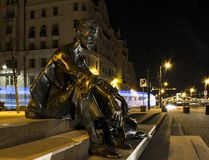 Άγαλμα Attila JÃ ³ zsef Στοκ φωτογραφίες με δικαίωμα ελεύθερης χρήσης