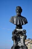 Άγαλμα Benvenuto Cellini, παλαιά γέφυρα, Φλωρεντία Στοκ Εικόνες