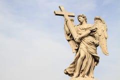 Άγαλμα Bernini του αγγέλου Στοκ φωτογραφία με δικαίωμα ελεύθερης χρήσης