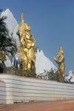 Άγαλμα Bhagirath που εκτελεί την τιμωρία ενώπιον του Λόρδου Shiva στοκ φωτογραφίες
