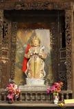 Άγαλμα bodhisattva Skanda στοκ φωτογραφίες με δικαίωμα ελεύθερης χρήσης