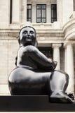Άγαλμα Botero Μεξικό Στοκ Εικόνα