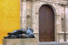 Άγαλμα Botero στην Καρχηδόνα Στοκ Εικόνες