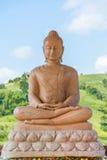 Άγαλμα Buddhas συνεδρίασης Στοκ Εικόνες