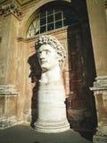 Άγαλμα Colos Μουσείο Βατικάνου προαυλίων Στοκ φωτογραφία με δικαίωμα ελεύθερης χρήσης