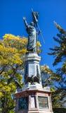 Άγαλμα Dolores Hidalgo Μεξικό του Miguel Hidalgo πατέρων Στοκ εικόνες με δικαίωμα ελεύθερης χρήσης