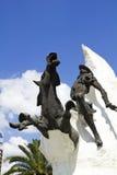 άγαλμα Don Δον Κιχώτης Στοκ φωτογραφία με δικαίωμα ελεύθερης χρήσης