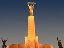 Άγαλμα Gellért (Szt Gellért Szobor) Στοκ Εικόνα