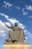 Άγαλμα Haci Bektas Veli, Nevsehir Στοκ φωτογραφία με δικαίωμα ελεύθερης χρήσης