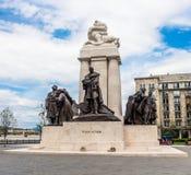 Άγαλμα Istvà ¡ ν Tisza Στοκ Εικόνες