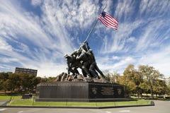 Άγαλμα Jima Iwo - Washington DC, ΗΠΑ Στοκ Εικόνες