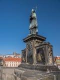 άγαλμα John nepomuk ST Στοκ φωτογραφία με δικαίωμα ελεύθερης χρήσης