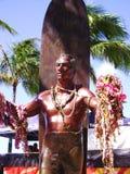 Άγαλμα Kahanamoku δουκών στοκ φωτογραφία με δικαίωμα ελεύθερης χρήσης