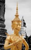 Άγαλμα Kinnaree στοκ εικόνα με δικαίωμα ελεύθερης χρήσης