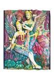 Άγαλμα Kinnari στοκ εικόνες
