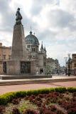 Άγαλμα Kosciuszko Tadeusz, τετράγωνο ελευθερίας, Λοντζ Στοκ εικόνες με δικαίωμα ελεύθερης χρήσης