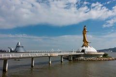 Άγαλμα Kun lam Στοκ φωτογραφία με δικαίωμα ελεύθερης χρήσης