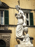 Άγαλμα Lucca Ιταλία στοκ εικόνα με δικαίωμα ελεύθερης χρήσης