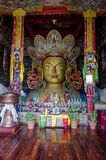 Άγαλμα Maitreya Βούδας Στοκ φωτογραφίες με δικαίωμα ελεύθερης χρήσης