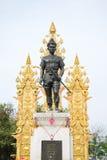 Άγαλμα Mengrai βασιλιάδων σε Chiangrai Στοκ εικόνα με δικαίωμα ελεύθερης χρήσης