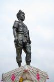 Άγαλμα Mengrai βασιλιάδων σε Chiangrai Στοκ εικόνες με δικαίωμα ελεύθερης χρήσης
