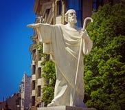 Άγαλμα Mikhaylovsky τετραγωνικό Κίεβο Ουκρανία Αγίου Andrew Άγιος Andr Στοκ εικόνα με δικαίωμα ελεύθερης χρήσης