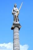 Άγαλμα Minerva στη στήλη Kuskovo Μόσχα Ρωσία Στοκ φωτογραφία με δικαίωμα ελεύθερης χρήσης