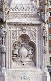 Άγαλμα Monument Plaza de Colon Μαδρίτη Ισπανία του Columbus Στοκ φωτογραφίες με δικαίωμα ελεύθερης χρήσης