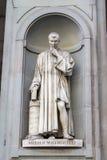 Άγαλμα Niccolo Machiavelli, Φλωρεντία, Ιταλία στοκ φωτογραφίες με δικαίωμα ελεύθερης χρήσης