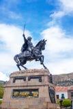 Άγαλμα Plaza Ayacucho Στοκ φωτογραφία με δικαίωμα ελεύθερης χρήσης