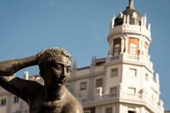 Άγαλμα Plaza de Espana Στοκ φωτογραφία με δικαίωμα ελεύθερης χρήσης