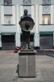 Άγαλμα Plaza Garibaldi Mariachi στην Πόλη του Μεξικού Στοκ Φωτογραφία