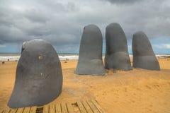 Άγαλμα Punta del Este Στοκ εικόνες με δικαίωμα ελεύθερης χρήσης