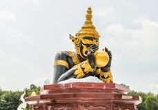 Άγαλμα Rahu του ναού Khao Sok στην Ταϊλάνδη Στοκ εικόνα με δικαίωμα ελεύθερης χρήσης