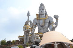 Άγαλμα Shiva - Murudeshwar Στοκ Φωτογραφία