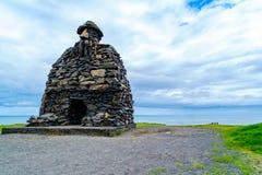 Άγαλμα Snaefellsas Bardur Στοκ Φωτογραφίες