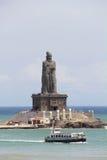 Άγαλμα Thiruvalluvar στο kanyakumari Στοκ φωτογραφία με δικαίωμα ελεύθερης χρήσης