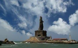 Άγαλμα Thiruvalluvar, Kanyakumari, Ινδία στοκ φωτογραφίες
