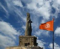 Άγαλμα Thiruvalluvar, Kanyakumari, Ινδία στοκ εικόνες