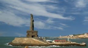 Άγαλμα Thiruvalluvar, Kanyakumari, Ινδία στοκ φωτογραφίες με δικαίωμα ελεύθερης χρήσης