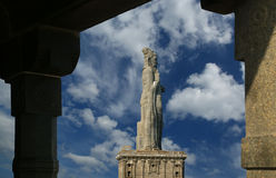 Άγαλμα Thiruvalluvar, Kanyakumari, Ινδία στοκ εικόνες με δικαίωμα ελεύθερης χρήσης