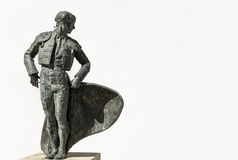 Άγαλμα Torero ή ταυρομάχων στην Ισπανία Στοκ Φωτογραφίες
