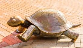 Άγαλμα Tortoise στην πλατεία Copley, Βοστώνη Στοκ Εικόνα